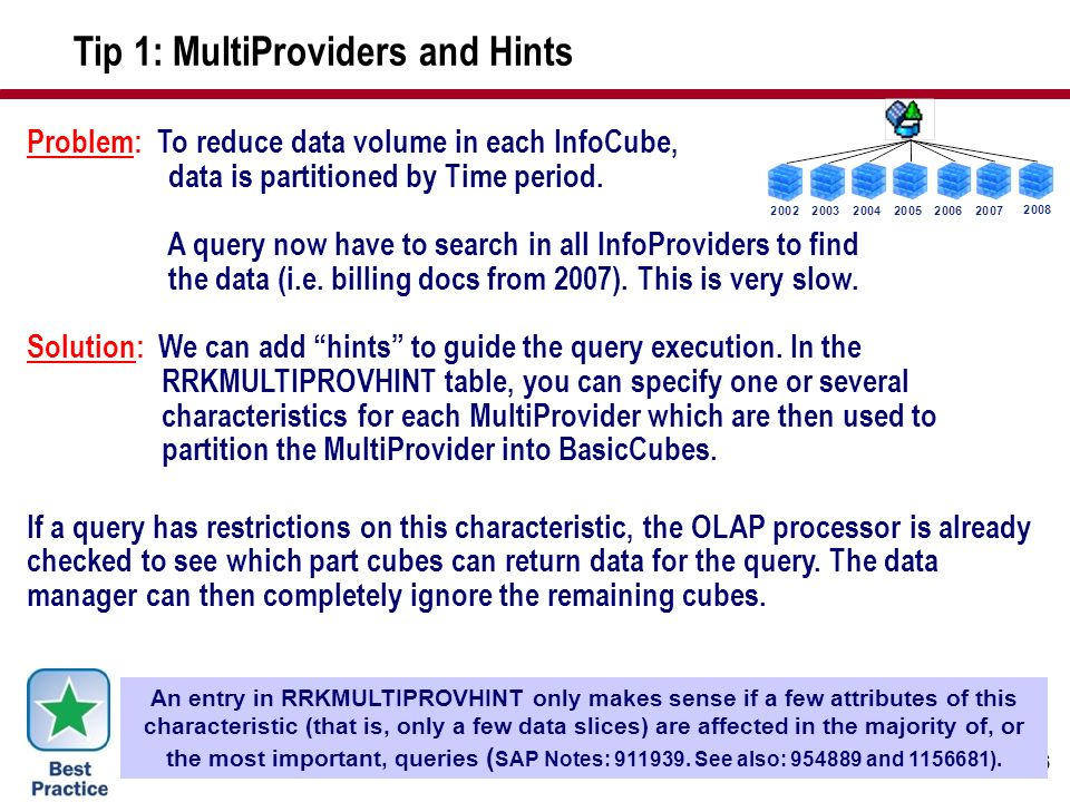 Tip 1: MultiProviders and Hints