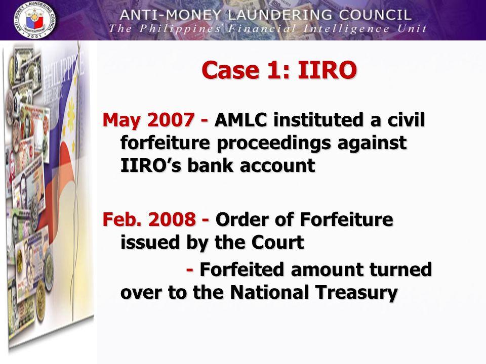 Case 1: IIRO