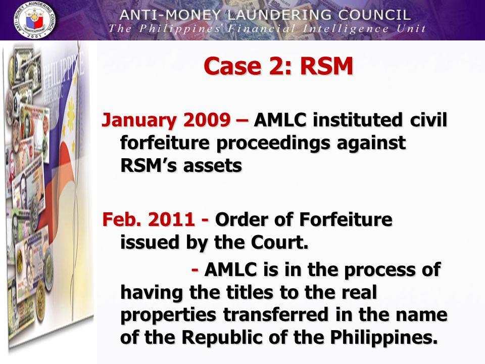 Case 2: RSM