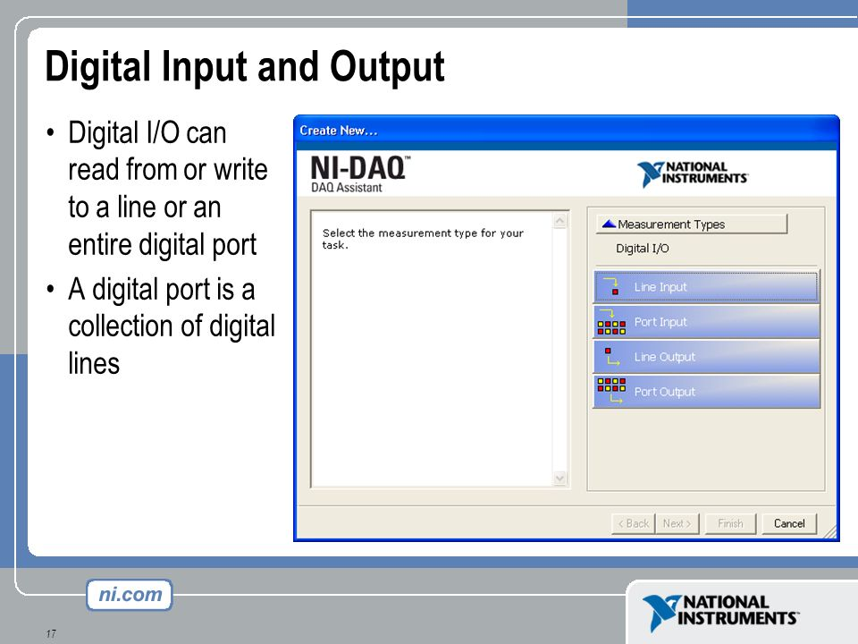 Digital Input and Output