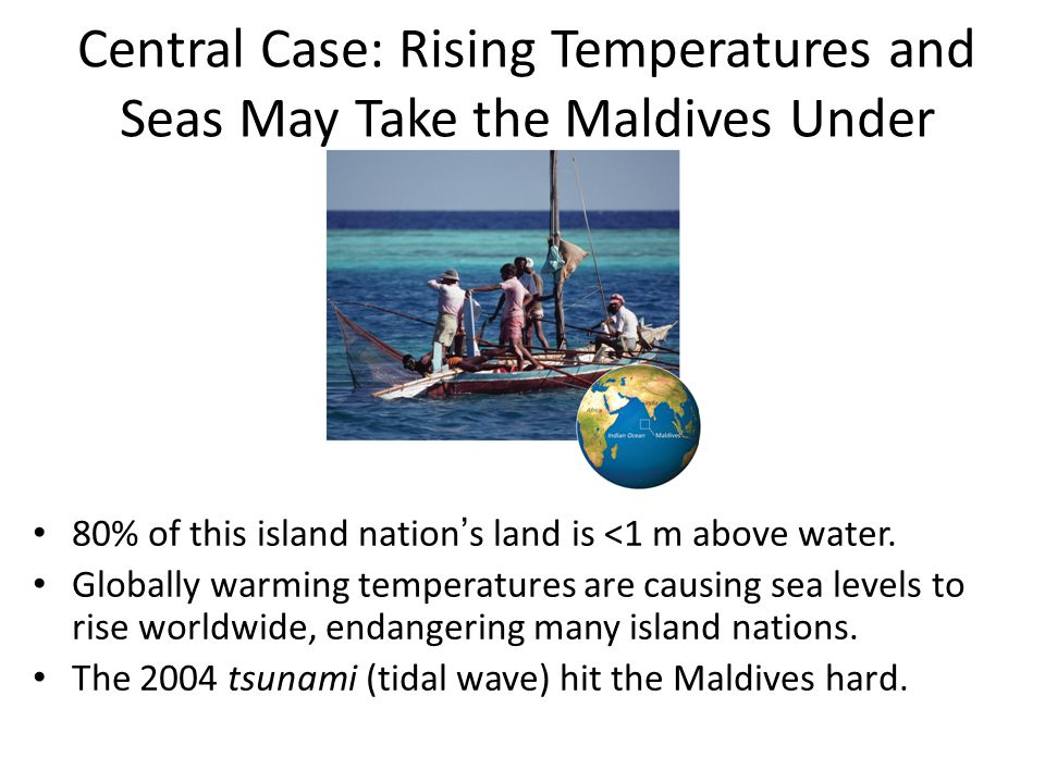 Central Case: Rising Temperatures and Seas May Take the Maldives Under