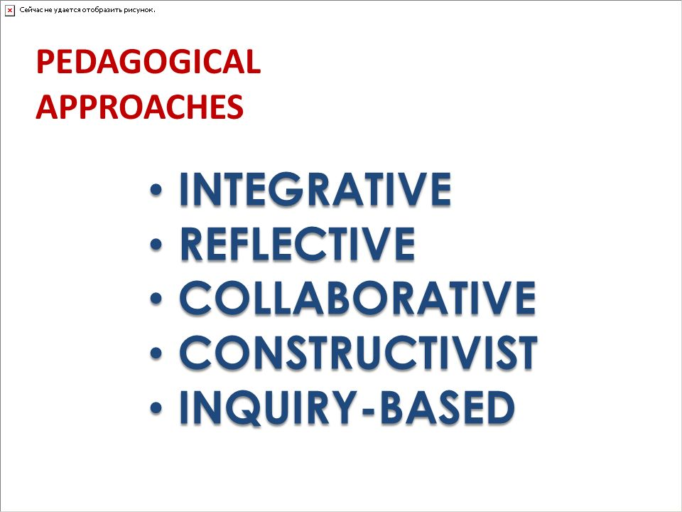 INTEGRATIVE REFLECTIVE COLLABORATIVE CONSTRUCTIVIST INQUIRY-BASED