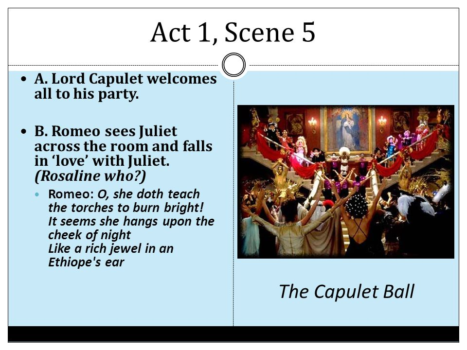 capulet and juliet relationship act 1 scene 2 hamlet