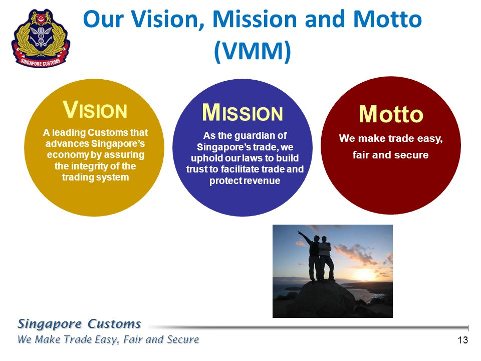 Our Vision, Mission and Motto (VMM)