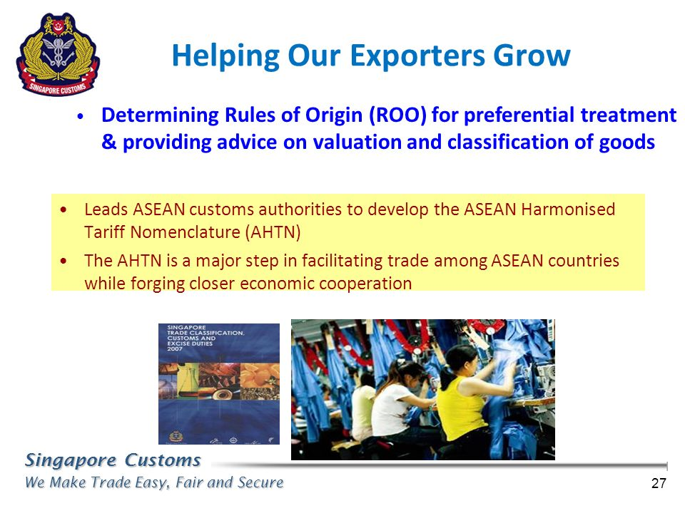 Helping Our Exporters Grow