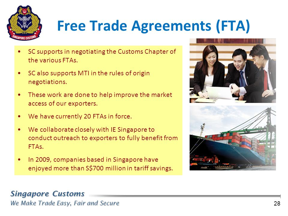Free Trade Agreements (FTA)