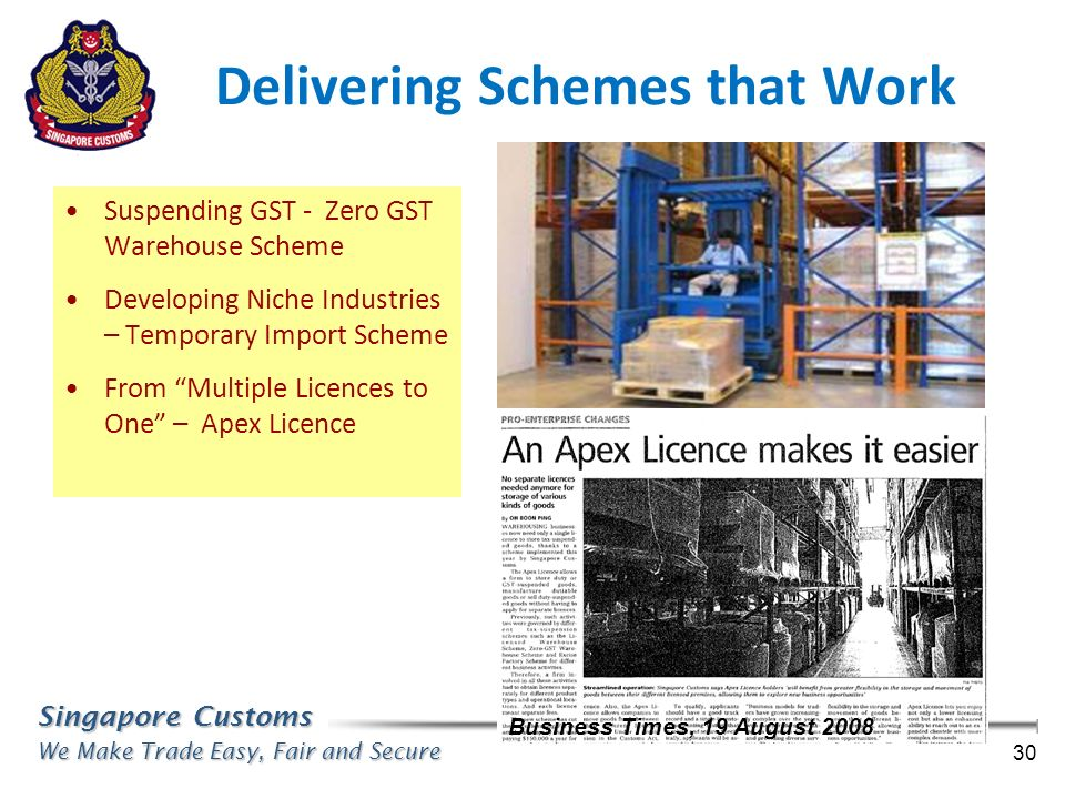 Delivering Schemes that Work