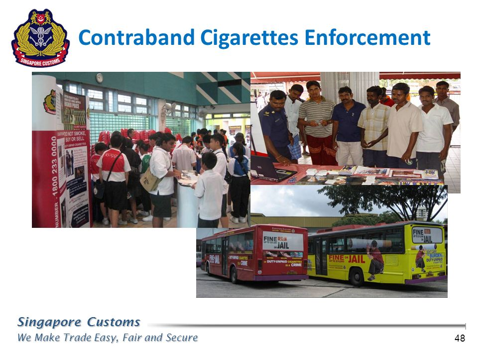 Contraband Cigarettes Enforcement