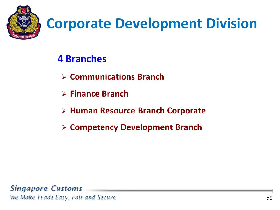 Corporate Development Division
