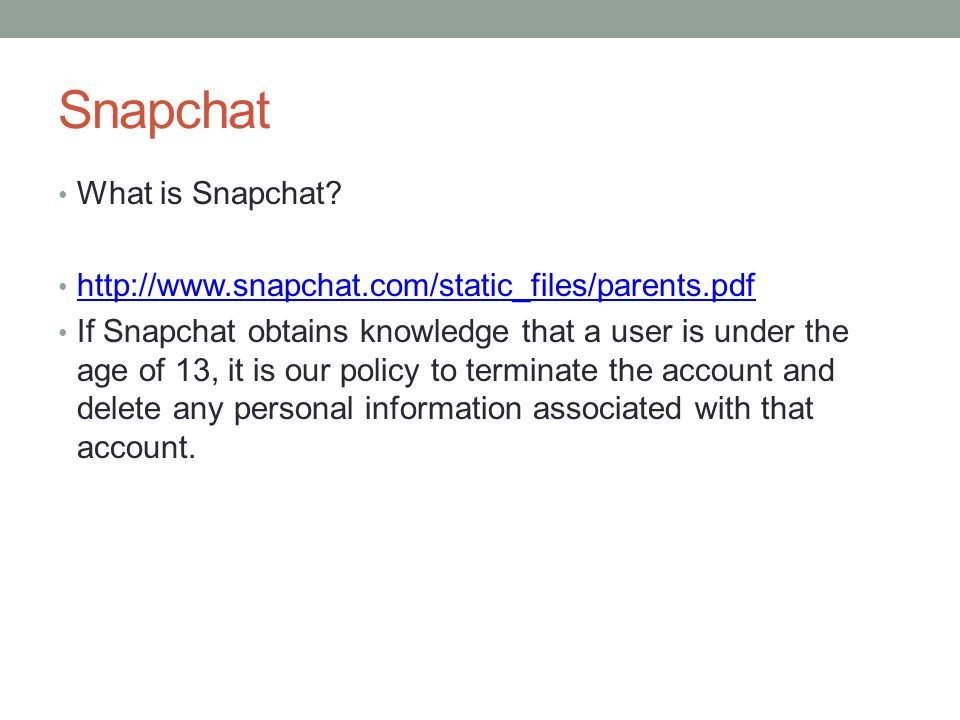 Snapchat What is Snapchat
