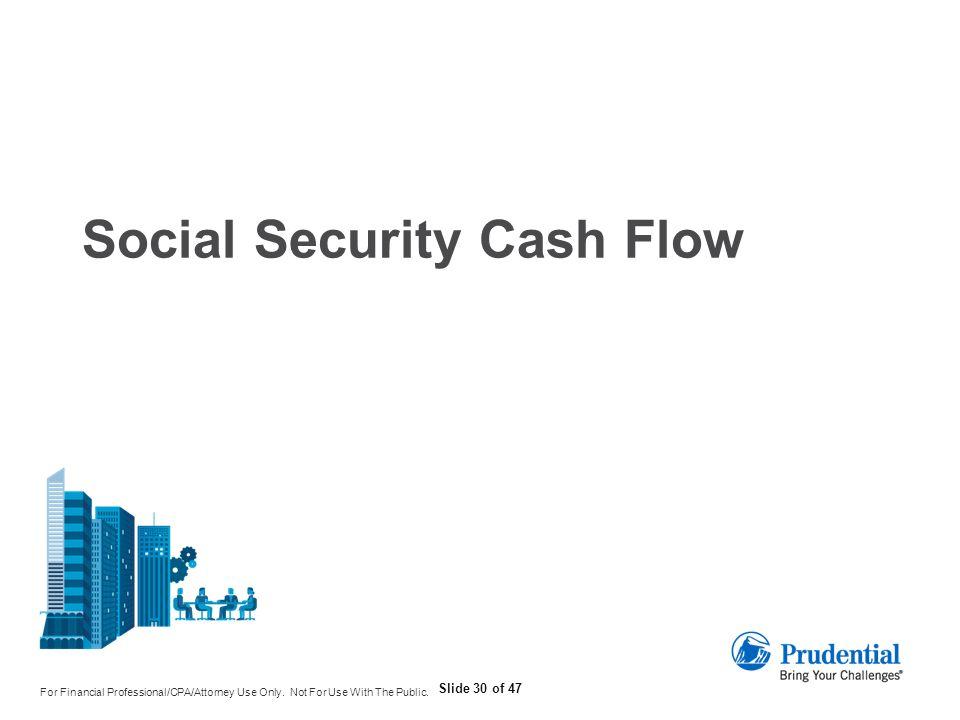 Social Security Cash Flow