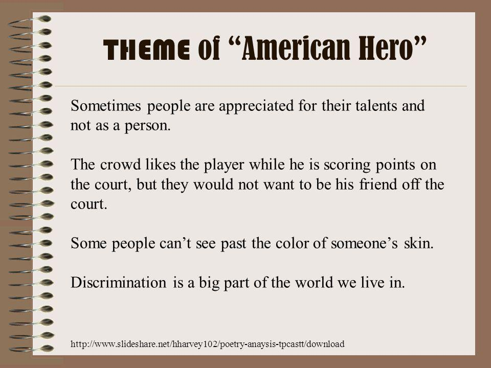 THEME of American Hero