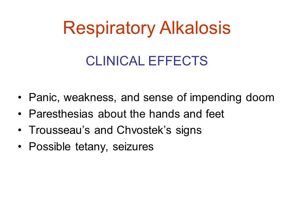 Respiratory Alkalosis
