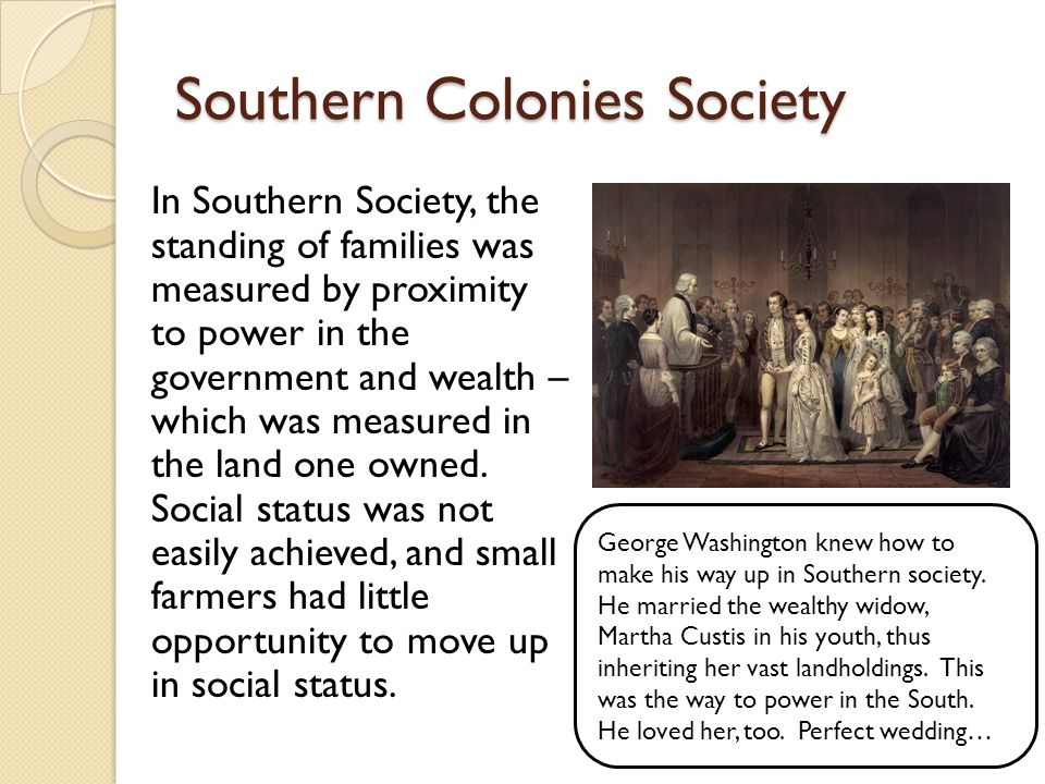 Southern Colonies Society