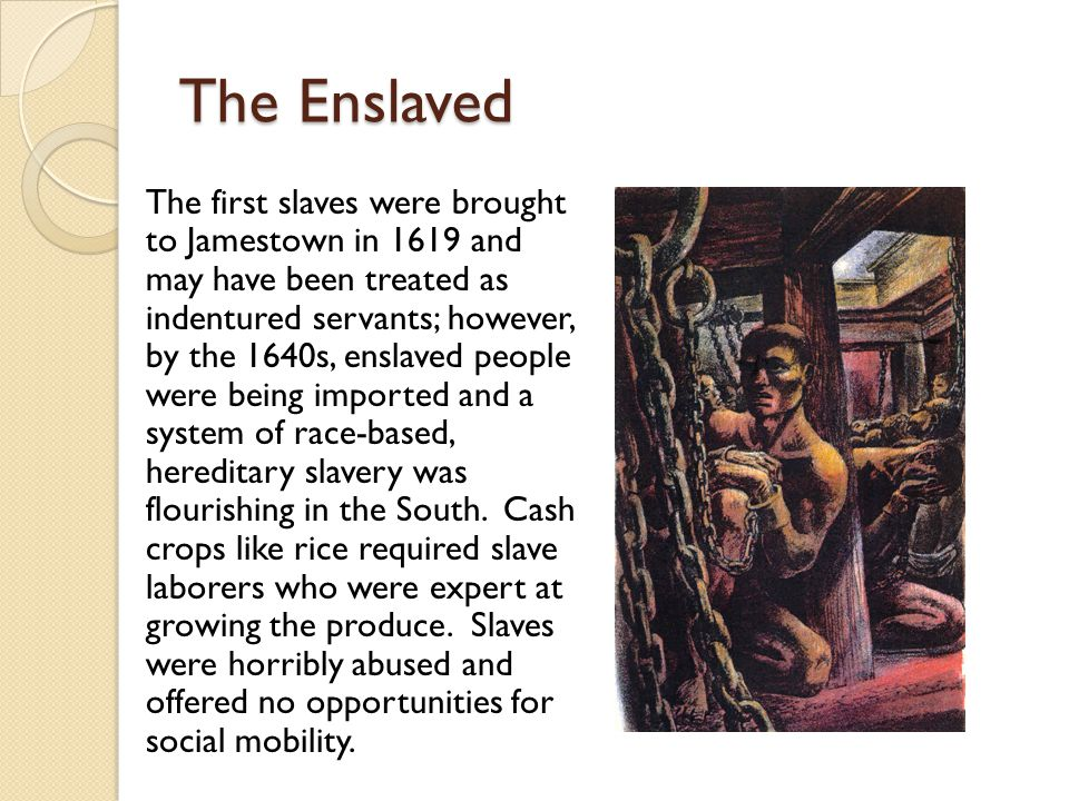 The Enslaved