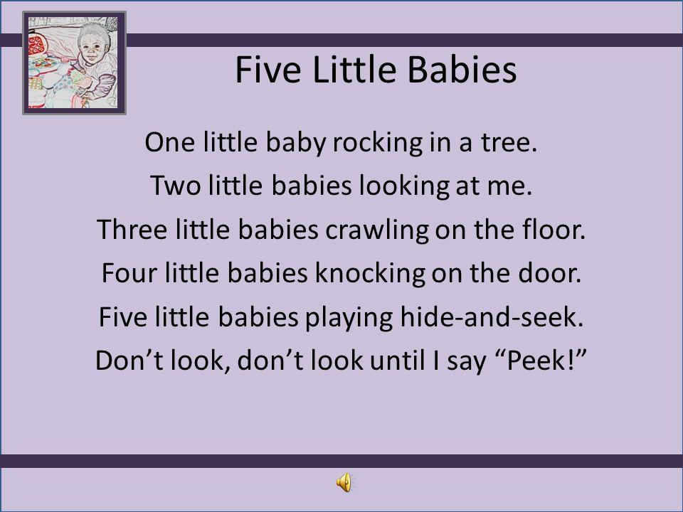 Five Little Babies