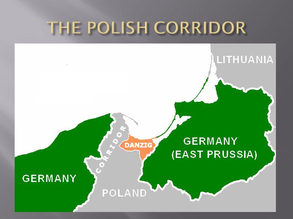 THE POLISH CORRIDOR