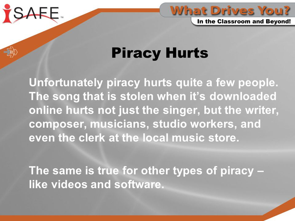 Piracy Hurts