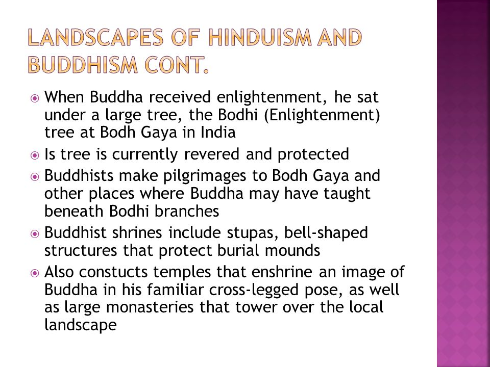 Landscapes of hinduism and buddhism CONt.