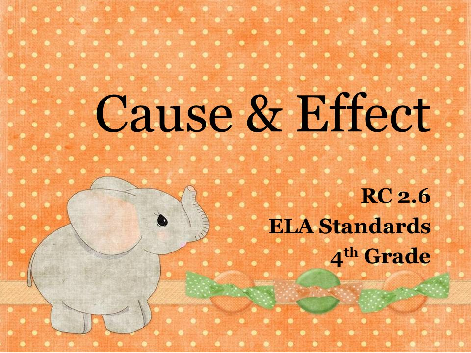 RC 2.6 ELA Standards 4th Grade