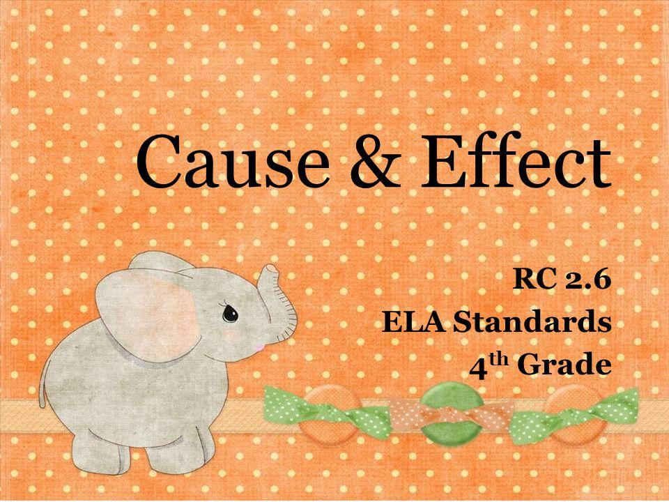 RC 2.6 ELA Standards 4th Grade
