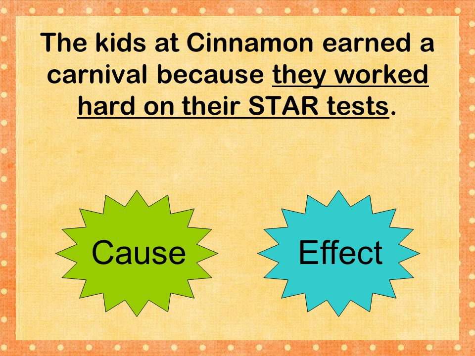 The kids at Cinnamon earned a carnival because they worked hard on their STAR tests.