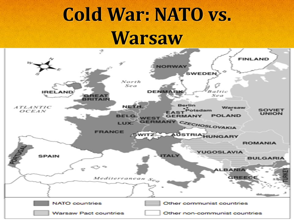 Cold War: NATO vs. Warsaw