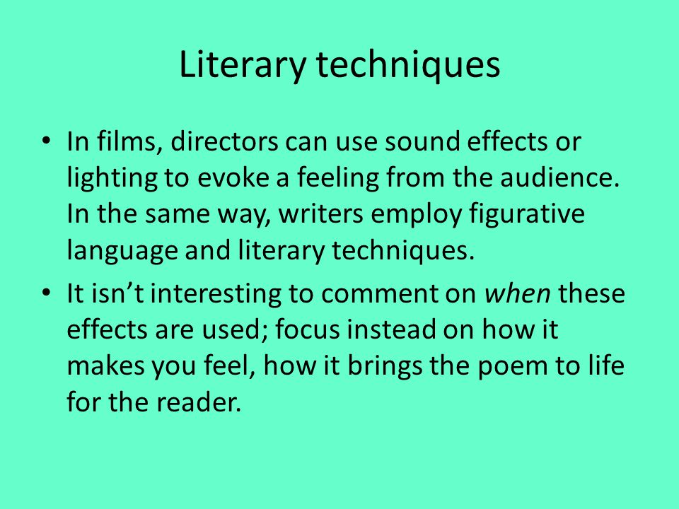 a discussion on the effects of poetry Efforts towards reconciliation come in many forms, and not always in expected ways for a discussion about the power of poetry to effect change and foster he.