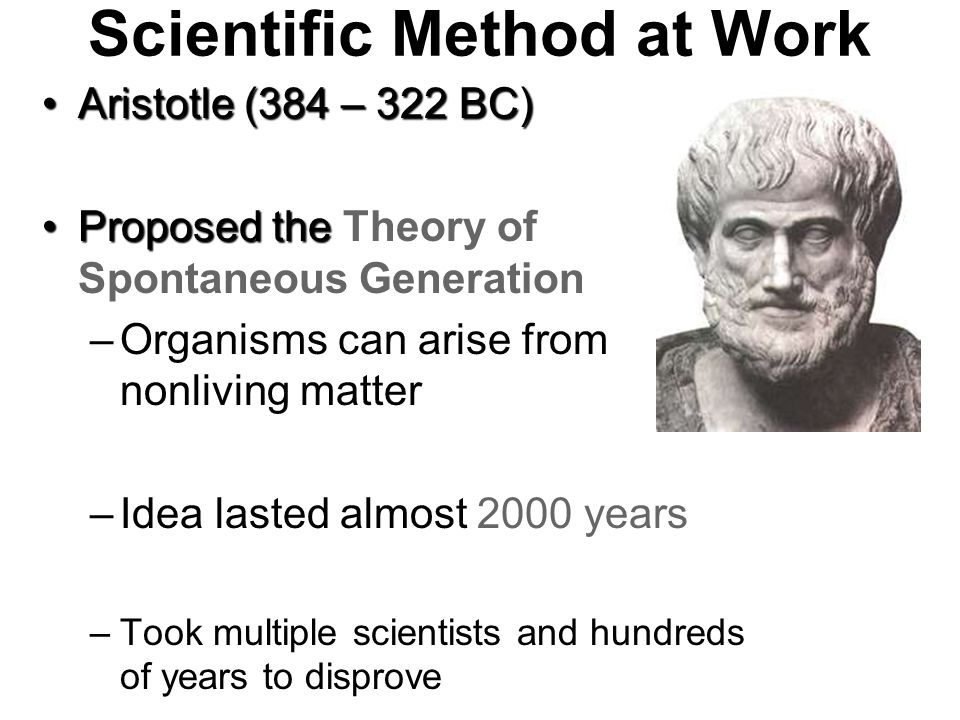 Scientific Method at Work