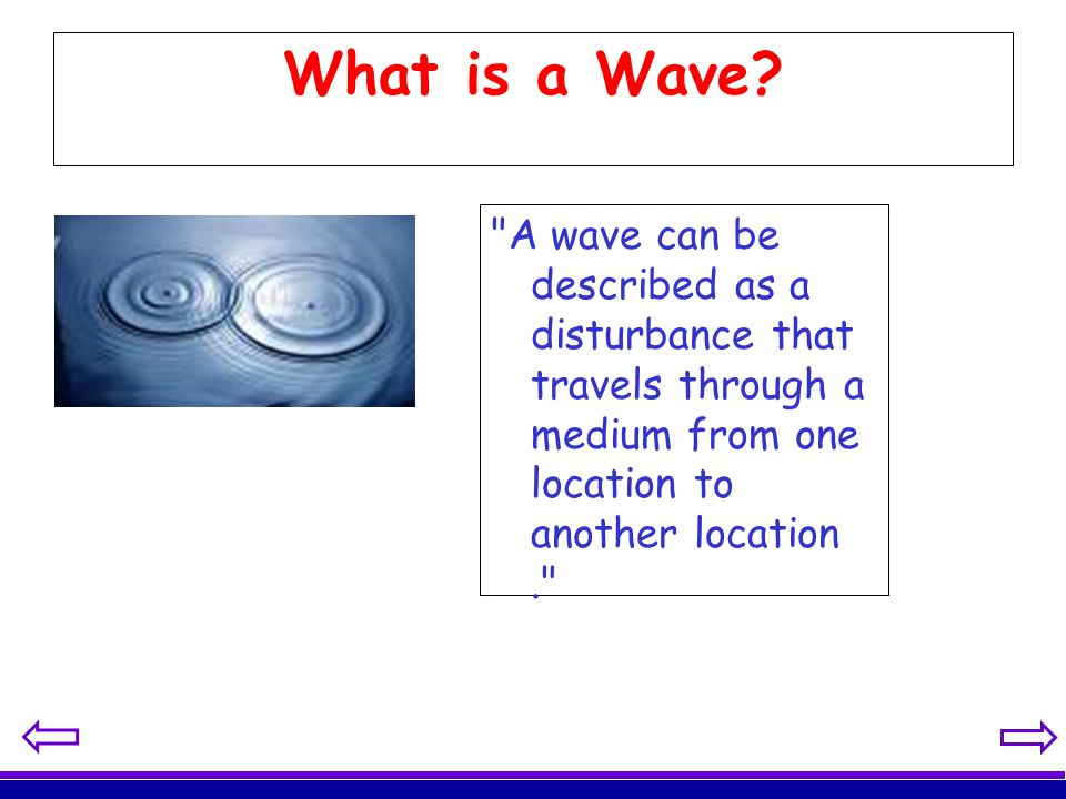 What is a Wave.