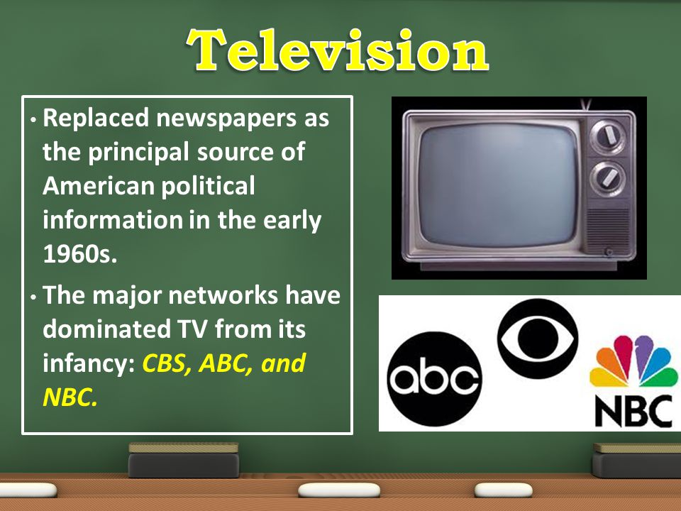 Television Replaced newspapers as the principal source of American political information in the early 1960s.
