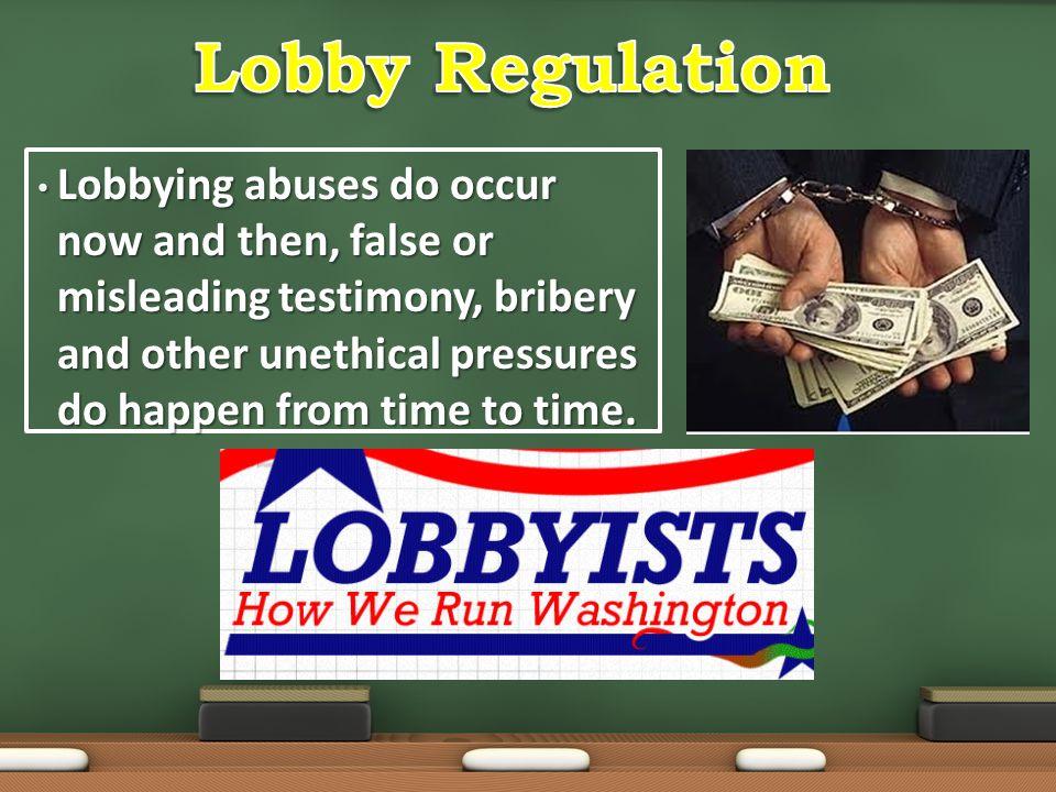 Lobby Regulation