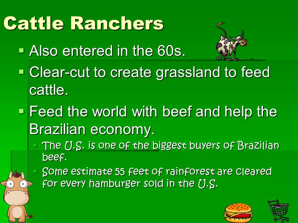 Cattle Ranchers Also entered in the 60s.