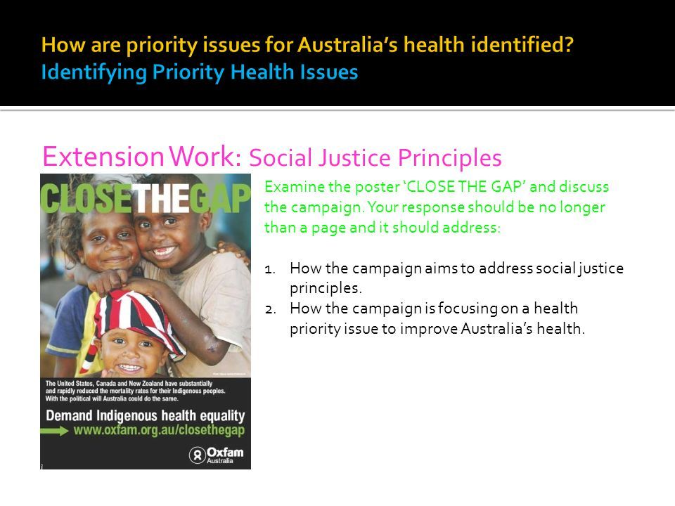 Extension Work: Social Justice Principles