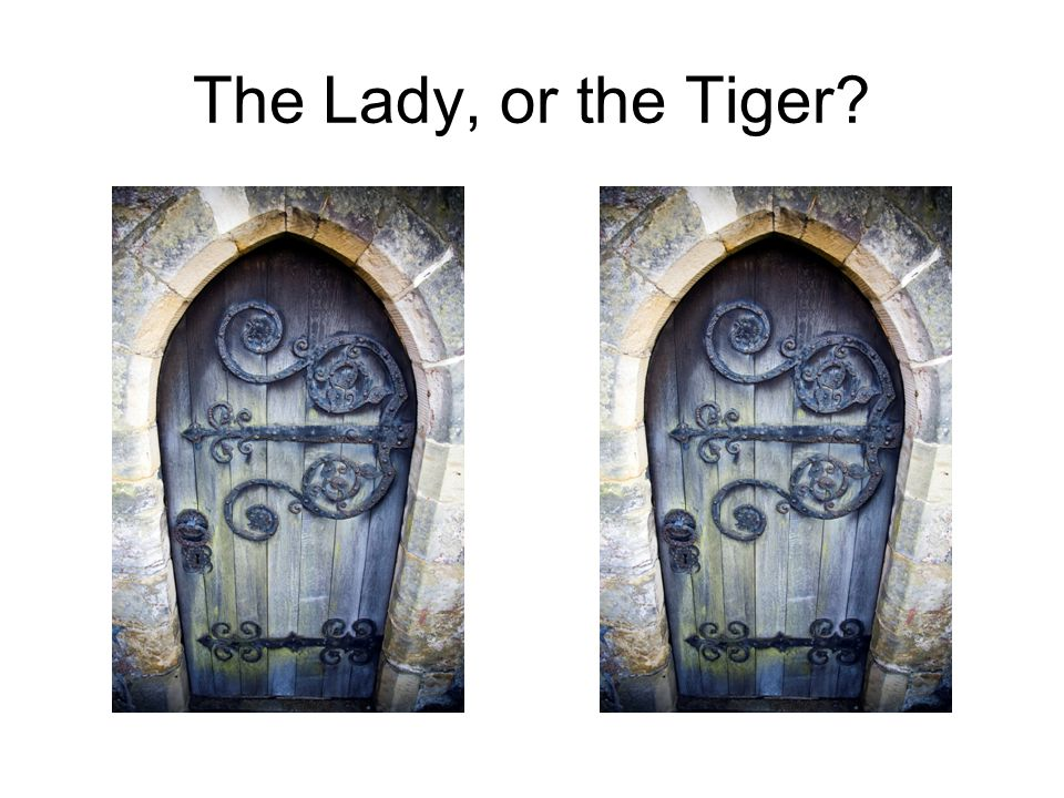The Lady or the Tiger? Questions and Answers