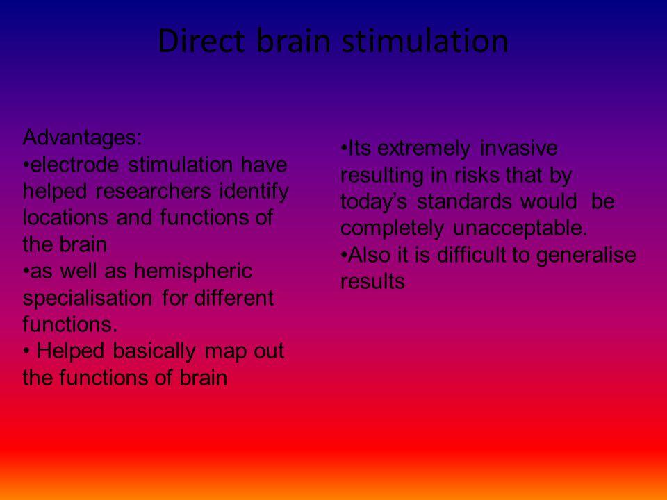 Direct brain stimulation