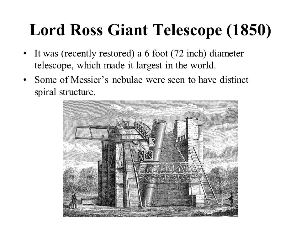 Lord Ross Giant Telescope (1850)