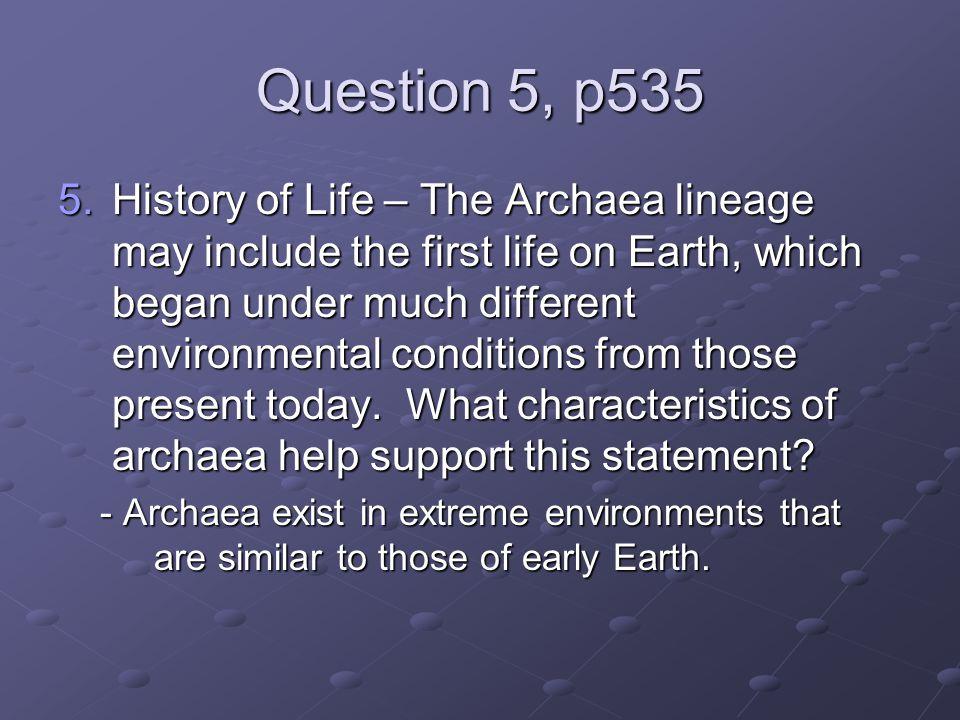 Question 5, p535