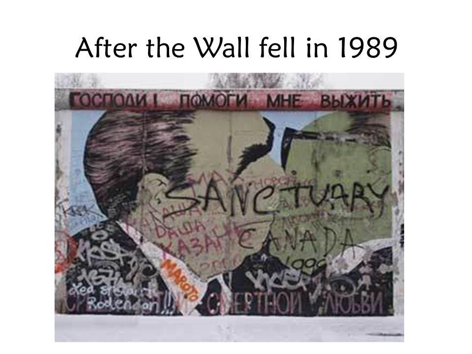 After the Wall fell in 1989