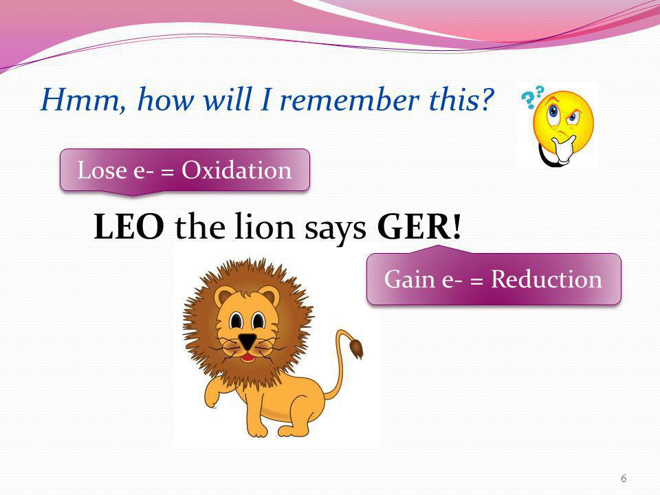 LEO the lion says GER! Hmm, how will I remember this