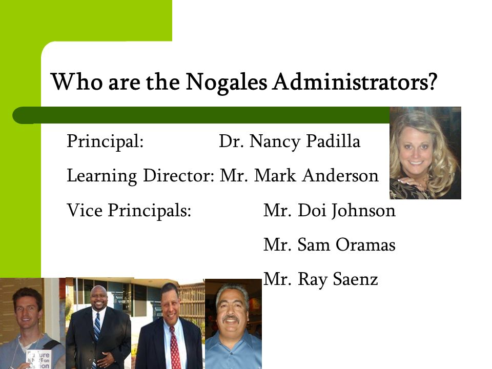 Who are the Nogales Administrators