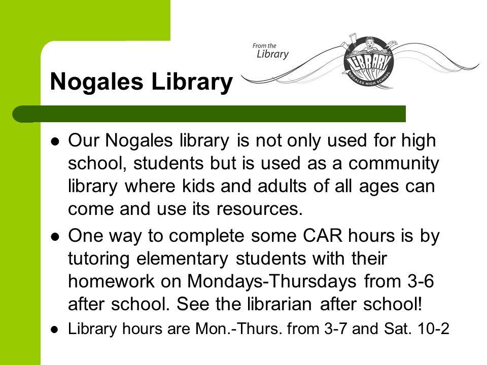 Nogales Library