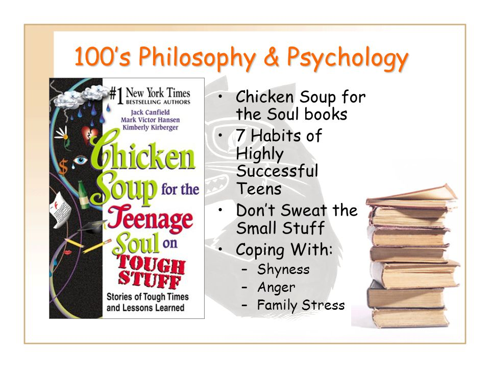 100's Philosophy & Psychology
