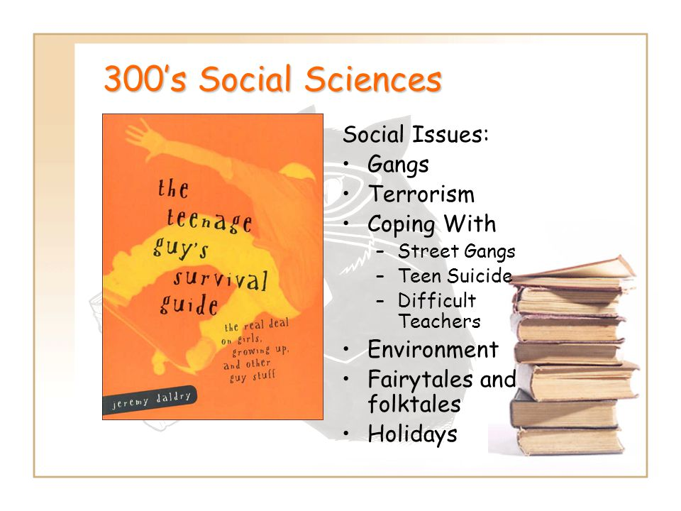 300's Social Sciences Social Issues: Gangs Terrorism Coping With