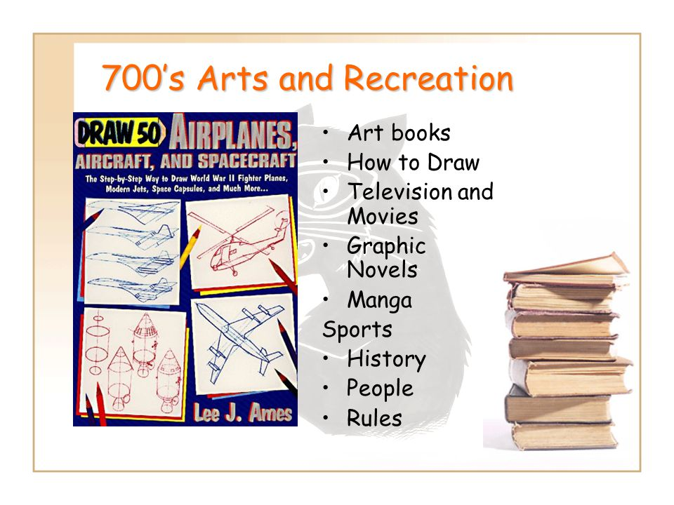 700's Arts and Recreation Art books How to Draw Television and Movies