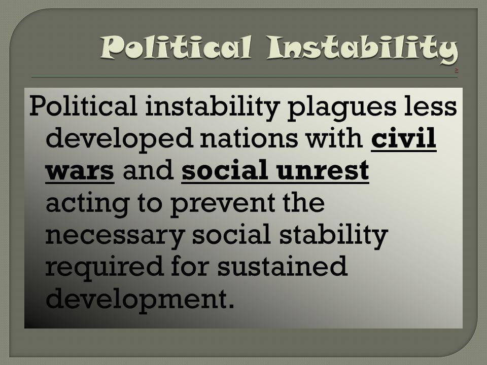 Political Instability >
