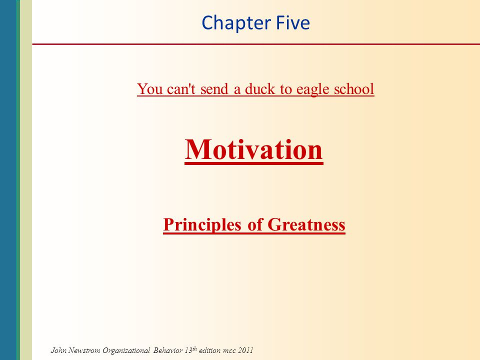 Principles of Greatness