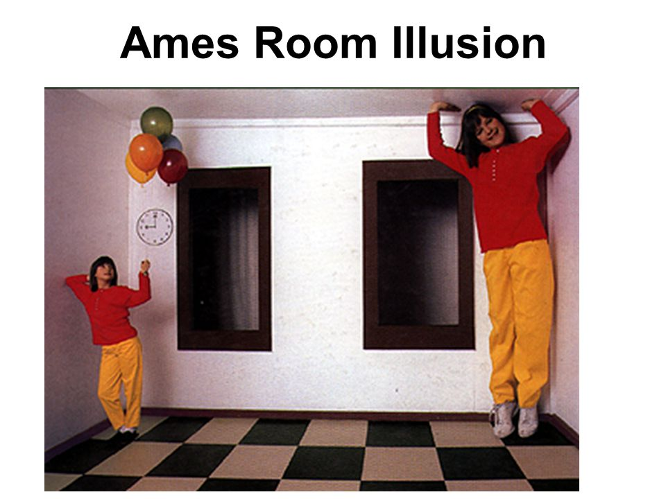 Ames Room Illusion