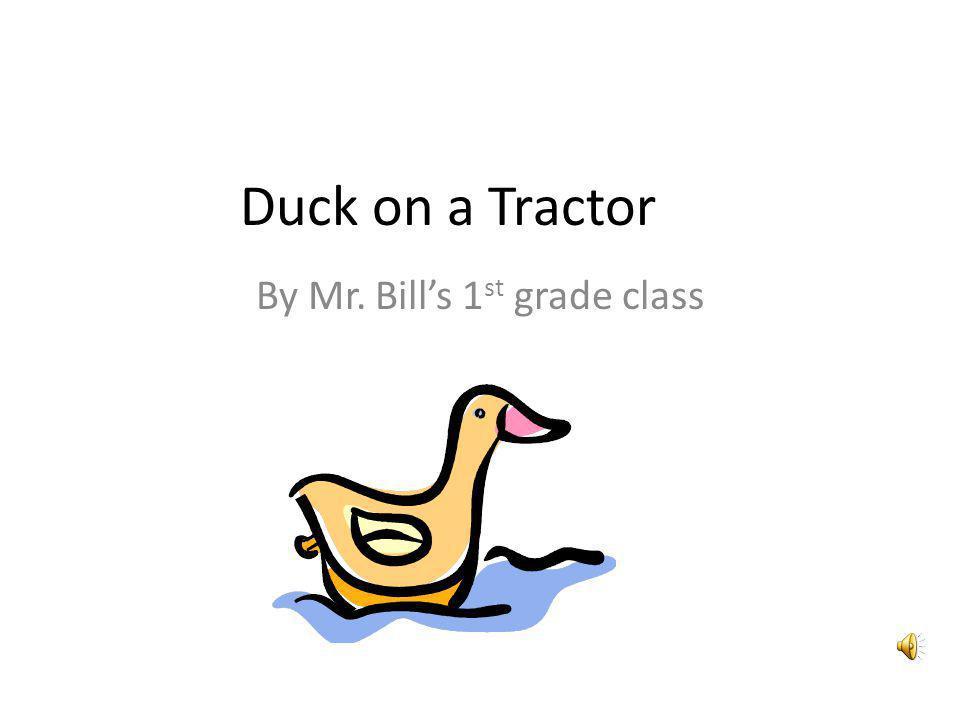 By Mr. Bill's 1st grade class