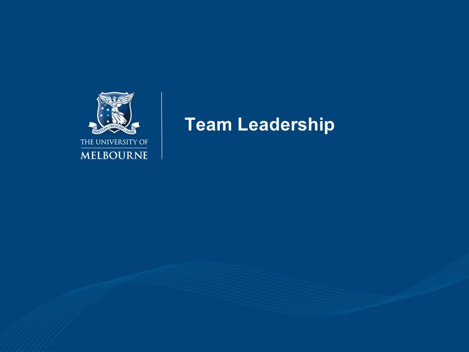 Team Leadership 31